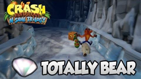 "Crash Bandicoot 2 - ""Totally Bear"" Secret Level 100% Clear Gem 41 (PS4 N Sane Trilogy)"