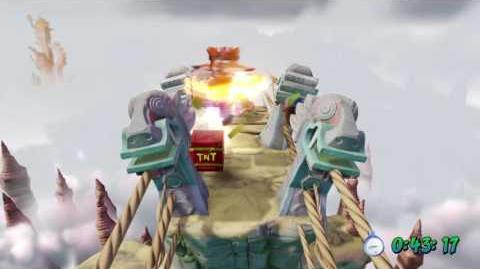 Crash Bandicoot- The High Road Platinum Relic