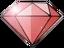 Red gem icon twinsanity