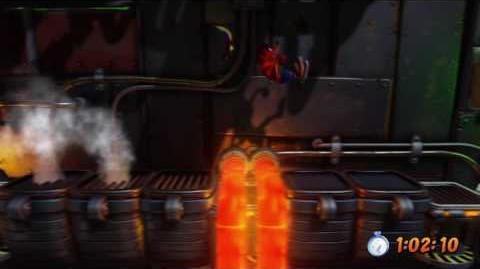 Crash Bandicoot - Heavy Machinery Platinum Relic 15 26