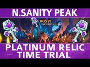 Crash Bandicoot 4 - N.Sanity Peak - Platinum Time Trial Relic (0-35