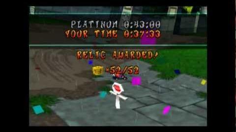 Tiger Temple - Platinum Relic - Crash Team Racing - 101% Playthrough (Part 47)