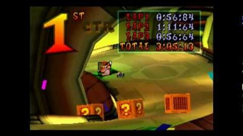Oxide Station - CTR Challenge - Crash Team Racing - 101% Playthrough (Part 41)