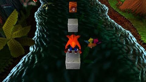 Crash Bandicoot Prototype, Part 10 Up The Creek-1