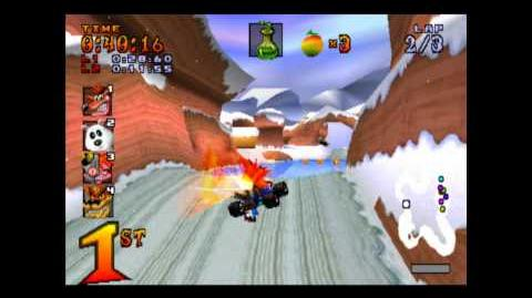 Blizzard Bluff - Trophy Race - Crash Team Racing - 101% Playthrough (Part 11)