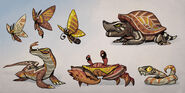 Skylanders animals concept