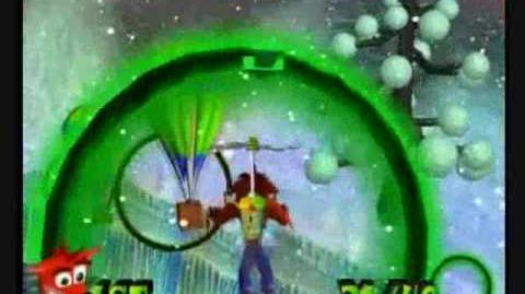 Crash Bandicoot The Wrath Of Cortex - 106% & All Platinums, Part 33 Ice Station Bandicoot-0