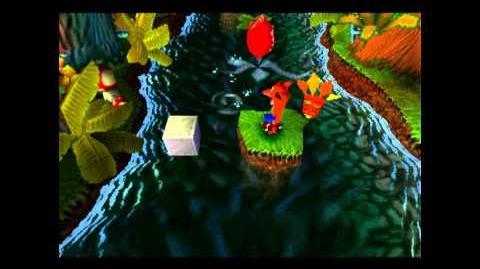 Up The Creek - Clear Gem - Crash Bandicoot - 100% Playthrough (Part 5)