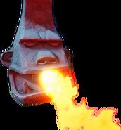 Crash Bandicoot N. Sane Trilogy Fire Breathing Tiki