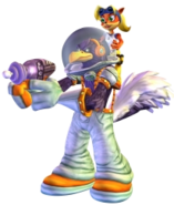 Coco Bandicoot Stench Mind over Mutant