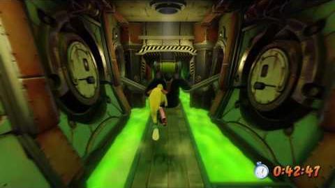 Crash Bandicoot - Toxic Waste - Platinum Relic