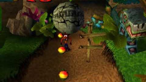 Crash Bandicoot - E3 Beta Version, Part 4 Boulders