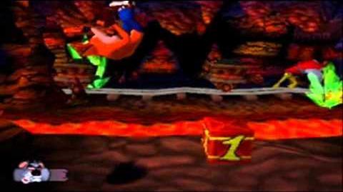 Crash Bandicoot Japanese Version 100% Part 21 - Koala Kong - The Music..