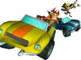Crash Tag Team Racing cars
