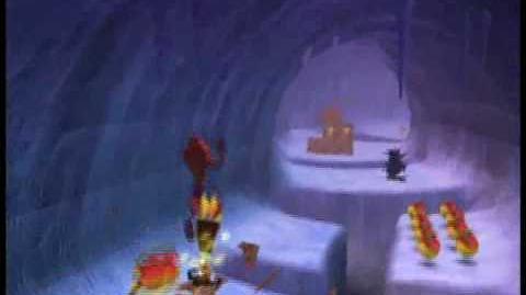 Crash Bandicoot 4 - How To Get The Blue Gem In Artic Antics
