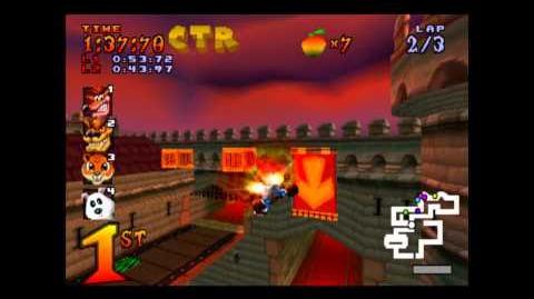 Cortex Castle - CTR Challenge - Crash Team Racing - 101% Playthrough (Part 39)