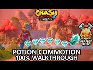 Crash Bandicoot 4 - 100% Walkthrough - Potion Commotion - All Gems Perfect Relic