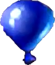 Crash Bash Blue Balloon