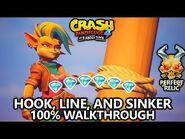 Crash Bandicoot 4 - 100% Walkthrough - Hook, Line, and Sinker - All Gems Perfect Relic