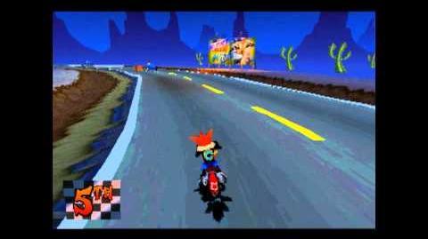 Road Crash - Clear Gem - Crash Bandicoot 3 Warped - 105% Playthrough (Part 15)