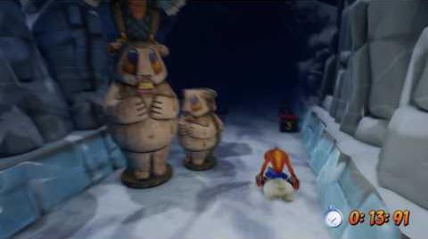Crash Bandicoot Totally Bear - Platinum Relic (Time Trial)-0
