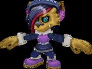 Crash Bandicoot Mind over Mutant Brat Girl