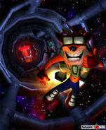 Crash Bandicoot 2 Crash with jetpack