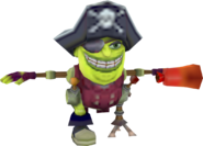 Crash Tag Team Racing Captain No Sense Ebenezer Von Clutch