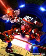 Crash Bandicoot 2 Cortex schlägt zurück N. Gin Mech