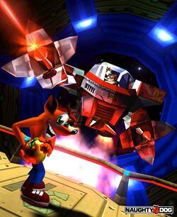 Crash Bandicoot 2 Cortex schlägt zurück N. Gin Mech.jpg