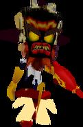 Crash Bandicoot Warped Uka Uka