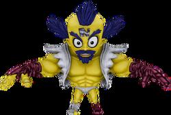Cortex boss crash mind over mutant model by crasharki-datq72r.png