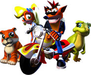 Crash Bandicoot 3 Promo