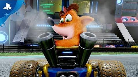 Crash Team Racing Nitro-Fueled - Reveal Trailer PS4