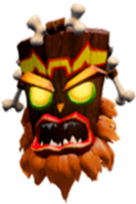 The Crash Bandicoot N. Sane Trilogy Uka Uka