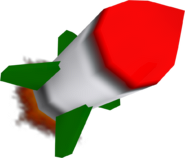 Crash Nitro Kart Homing Missile