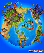 Around the World in Millions of Years