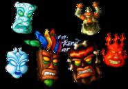The spiritual masks by lurking leanne-d86x92z