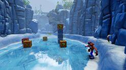 Crash Bandicoot N. Sane Trilogy Snow Go