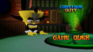 Game Over Crash WoC
