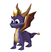 Spyro the dragon by sonic konga-dcidx8d