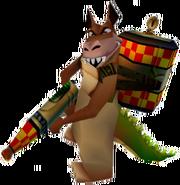 Crash 3 Dingodile