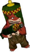 Dingodile Crash Bandicoot The Wrath of Cortex