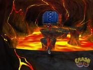 Crash Twinsanity Ameisen-Aufstand Lava-Höhle