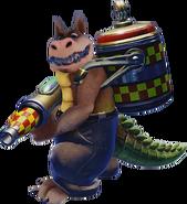 Crash Bandicoot N. Sane Trilogy Dingodile