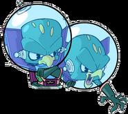Crash Twinsanity Evil Twins Scrapped Icon