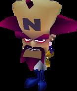 Crash Bandicoot 2 Cortex schlägt zurück Neo Cortex
