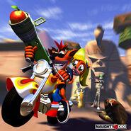 Crash Bandicoot Warped (Europe)