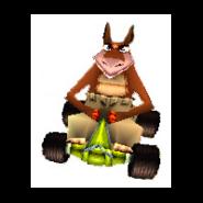Dingodile-crash-team-racing-in-kart