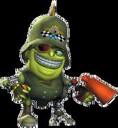 Crash Tag Team Racing Ebenezer Von Clutch